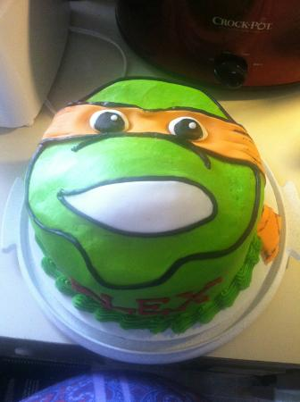 Tip Top Cake Shop: My son's 9th birthday cake