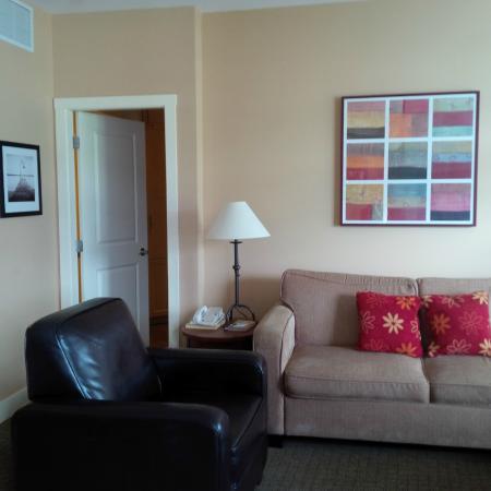 Summerland, Canadá: Living room