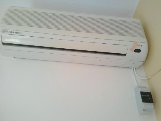 Christina Studios: The air conditioner with a timer