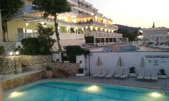 Commodore Hotel: Widok z balkonu