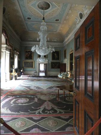 Saltram Gardens (National Trust): Decorative ceilings