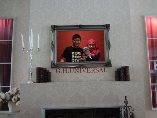 GH Universal Hotel: foto spot di lobi hotel