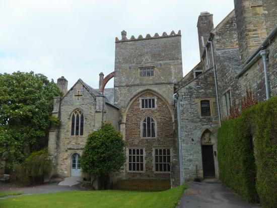 Buckland Abbey: Entrance to the house