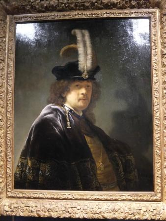 Buckland Abbey: Rembrandt's orginal self-portrait  (1635)