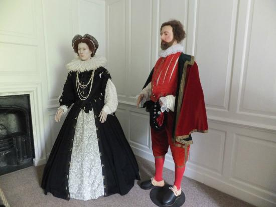 Buckland Abbey: Costumes on display