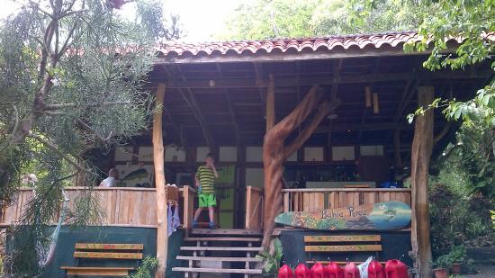 Bahia Rica Kayak and Fishing Lodge : Dining area