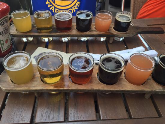 Amazing microbrewery with awesome food
