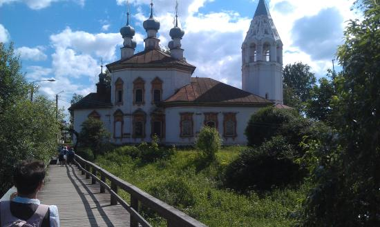 Church of the Annunciation of the Blessed Virgin: Вид с Козьего мостика
