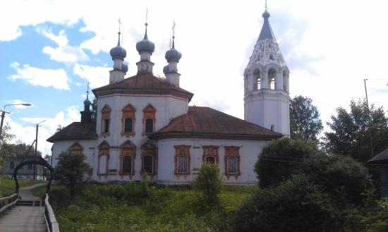Ustyuzhna, Oroszország: Церковь Благовещения Пресвятой Богородицы