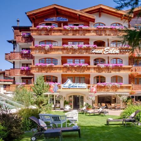 Hotel Eden Wellness: Aussenansicht Sommer