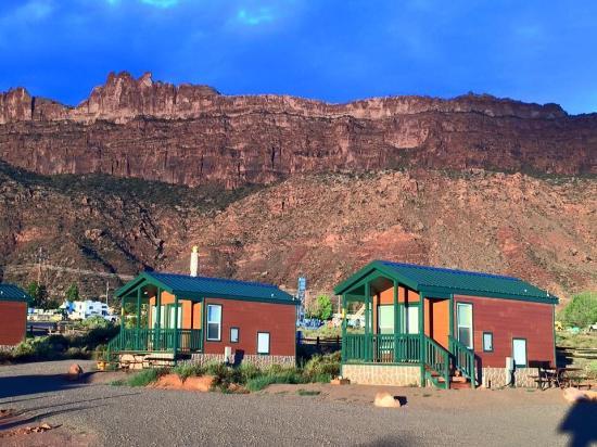 Moab koa campground picture of moab koa moab tripadvisor for Moab utah cabins