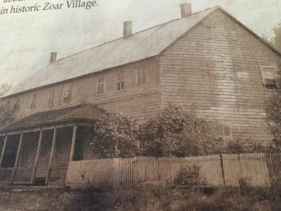 Canal Tavern of Zoar: Back in the day