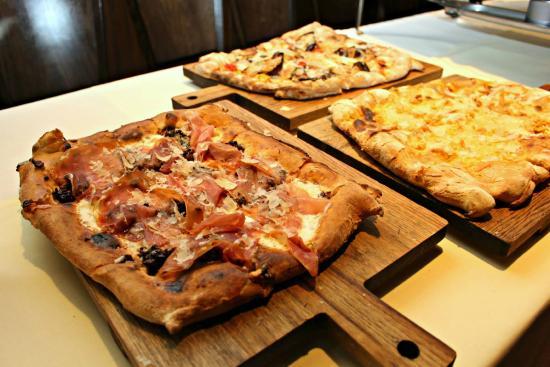 pizza assortment - Picture of Tuscan Kitchen, Burlington - TripAdvisor