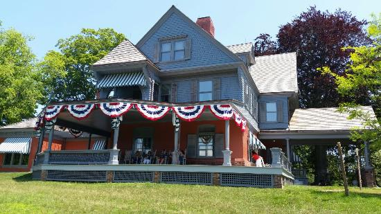 Oyster Bay, NY: Theodore Roosevelt's home