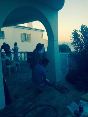 Beautiful villa style apartment overlooking this!