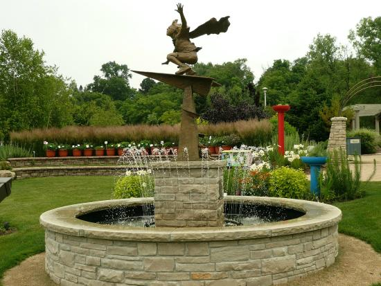 Statue Picture Of Rotary Botanical Gardens Janesville