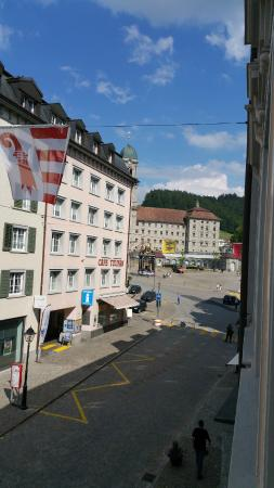 Hotel St. Georg: View from room
