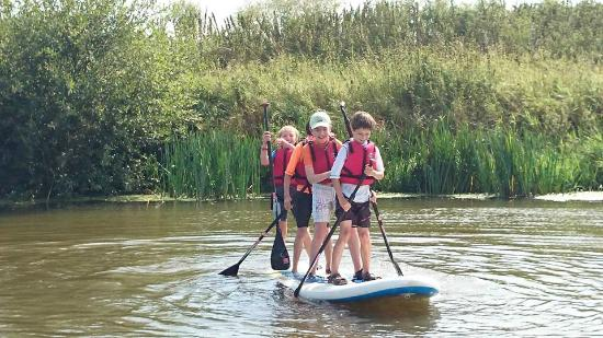 Bodiam, UK: SUP for kids