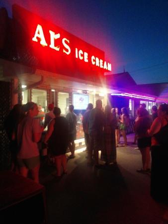 Al's French Frys: Ice Cream Line