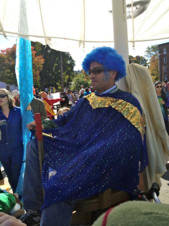 Davis Square: HONK! Parade in October -- fun and irreverent
