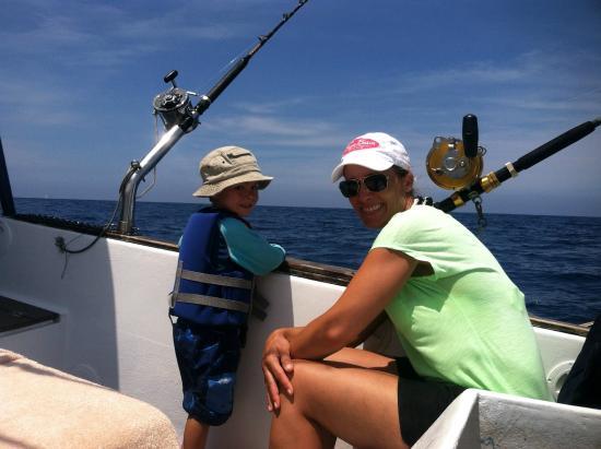 C. Hawk Sea Service: Kids had fun too
