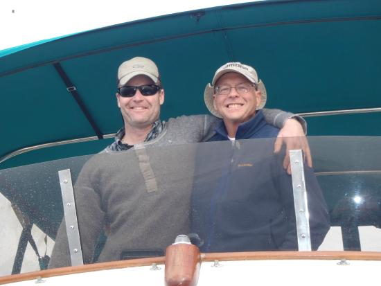 Blue Pacific Yacht Charters: Geoff & John