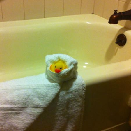 Coarsegold, CA: You get a Rubber Ducky!