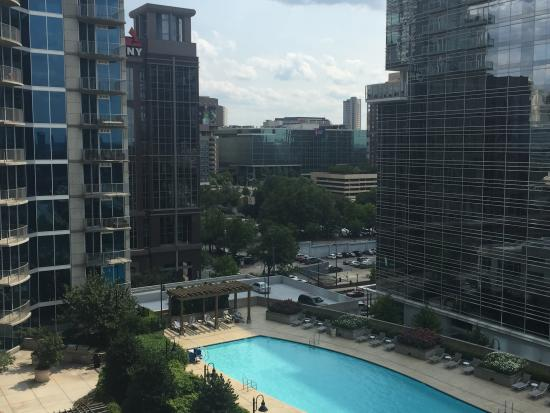 Balcony And Pool View Picture Of Twelve Downtown Autograph Collection Atlanta Tripadvisor