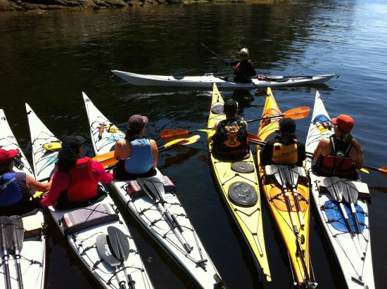 Sechelt, Canadá: Paddle Canada certified instructors
