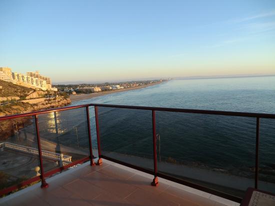 Aparthotel El Faro: вид.были в угловом.