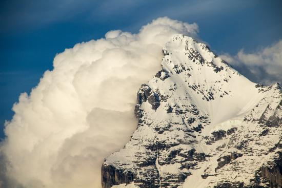 Hotel Jungfrau - Restaurant Gruebi: Keep Your Eyes Open for Incredible Views