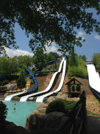 slides Picture of Geyser Falls Water Theme Park Choctaw TripAdvisor