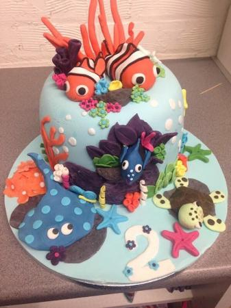 Awe Inspiring Nemo Themed Birthday Cake Picture Of Summerhouse Bakery Funny Birthday Cards Online Elaedamsfinfo