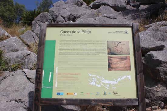 lago - Picture of Pileta Caves (Cueva de la Pileta), Benaojan - TripAdvisor