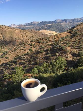 Riogordo, İspanya: Breakfast view!