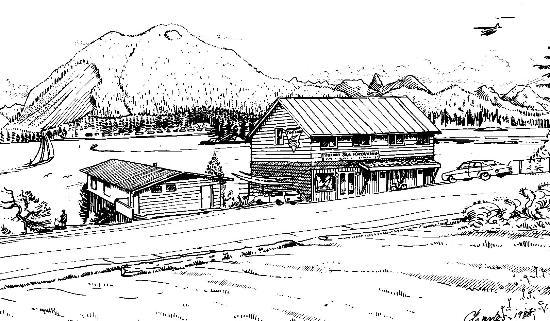 Paddlers Inn: Artistic rendering