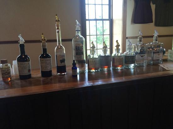 Tuthilltown Spirits: tasting line up
