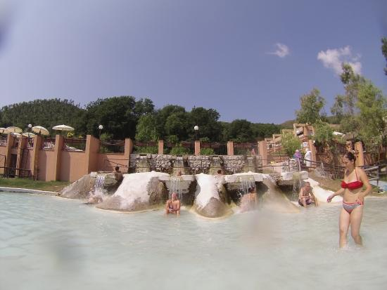 Cascatelle foto di terme di sant 39 egidio terme di suio - Suio terme piscine ...
