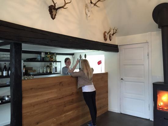 Sejeroe Island, Dinamarca: Bar med fadøl