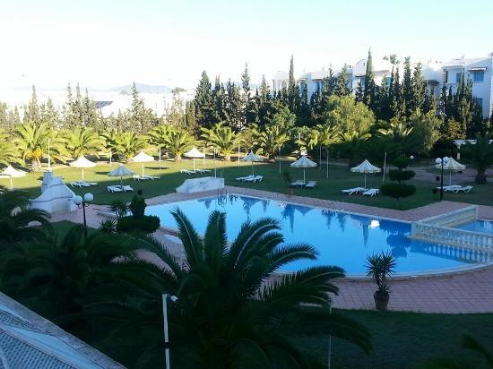 Hotel Green Golf: picine exterieur