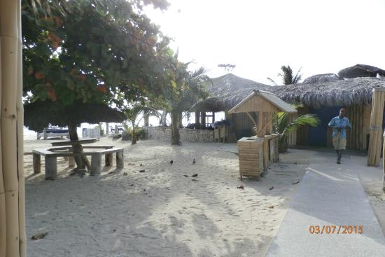 Mammee Bay, Jamaika: Local beach for residents