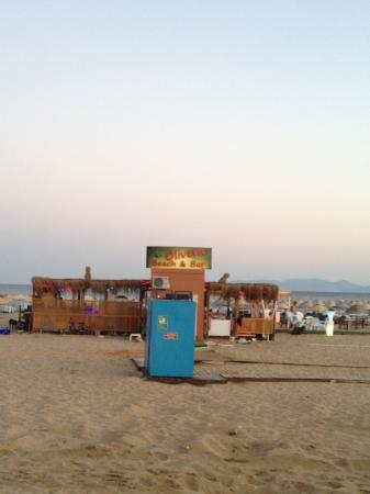 Olivera Resort Hotel: Beach cafe