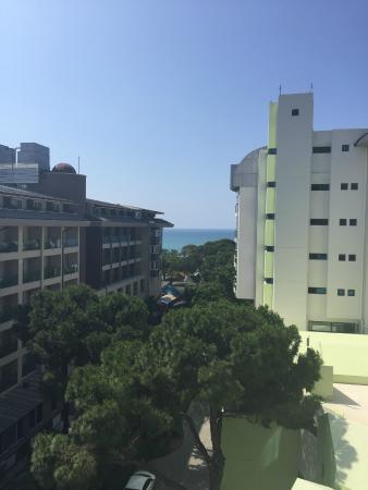 Cornelia De Luxe Resort: view from our room