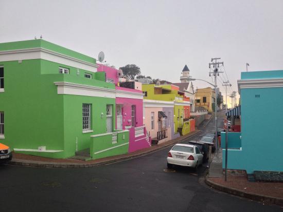 """Rose Lodge: La vue """"colorée"""" encore plus frappante par temps gris!!!"""