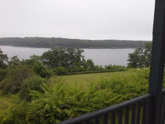 Rockport, ME: view from room.