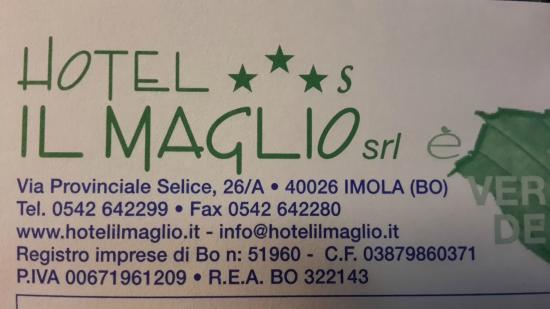 Hotel il Maglio : Hotel