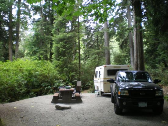 French Beach Provincial Park: campsite