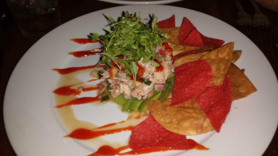Boneyard Bistro : Crab Ceviche (special dish for summer)