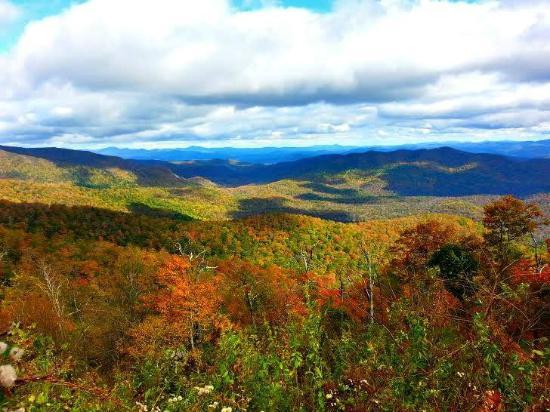 North Carolina Mountains, Kuzey Carolina: Fall 2014