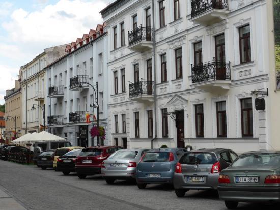 Hotel aristo in ulica jana kili skiego picture of hotel for Hotel agrustos